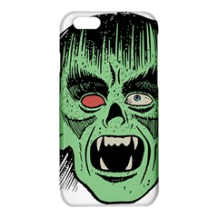 Zombie Face Vector Clipart iPhone 6/6S TPU Case
