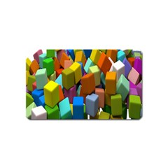 Cubes Assorted Random Toys Magnet (Name Card)