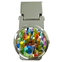 Cubes Assorted Random Toys Money Clip Watches