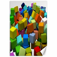 Cubes Assorted Random Toys Canvas 20  x 30