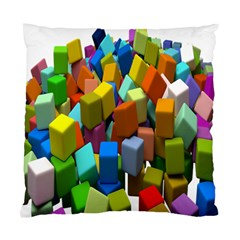 Cubes Assorted Random Toys Standard Cushion Case (One Side)