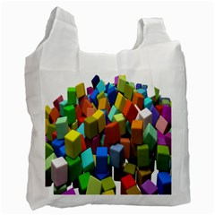 Cubes Assorted Random Toys Recycle Bag (One Side)