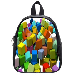 Cubes Assorted Random Toys School Bags (Small)