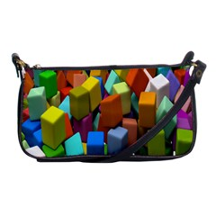 Cubes Assorted Random Toys Shoulder Clutch Bags
