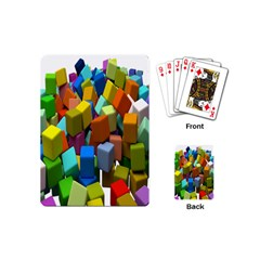 Cubes Assorted Random Toys Playing Cards (Mini)
