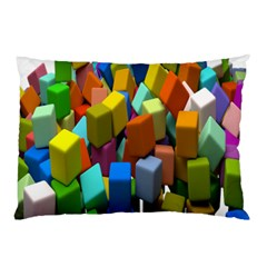 Cubes Assorted Random Toys Pillow Case (Two Sides)