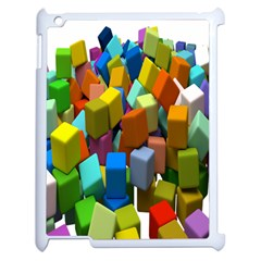 Cubes Assorted Random Toys Apple iPad 2 Case (White)