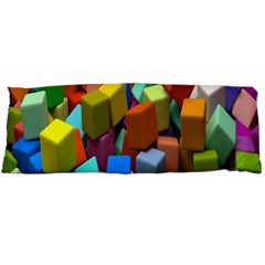 Cubes Assorted Random Toys Body Pillow Case Dakimakura (Two Sides)