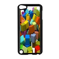 Cubes Assorted Random Toys Apple Ipod Touch 5 Case (black)