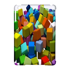 Cubes Assorted Random Toys Apple iPad Mini Hardshell Case (Compatible with Smart Cover)
