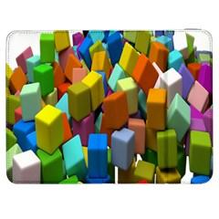 Cubes Assorted Random Toys Samsung Galaxy Tab 7  P1000 Flip Case