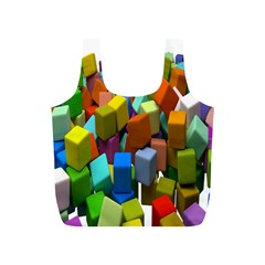 Cubes Assorted Random Toys Full Print Recycle Bags (s)