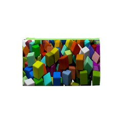 Cubes Assorted Random Toys Cosmetic Bag (XS)