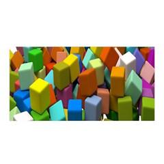 Cubes Assorted Random Toys Satin Wrap