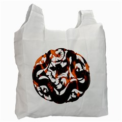 Ornament Dragons Chinese Art Recycle Bag (Two Side)