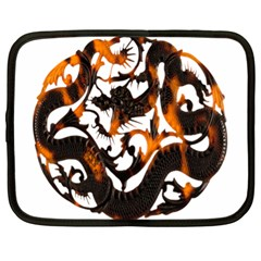 Ornament Dragons Chinese Art Netbook Case (XL)