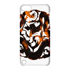 Ornament Dragons Chinese Art Apple iPod Touch 5 Hardshell Case with Stand