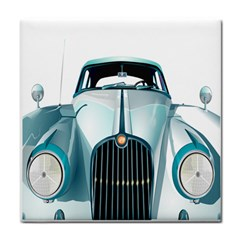 Oldtimer Car Vintage Automobile Tile Coasters