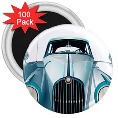 Oldtimer Car Vintage Automobile 3  Magnets (100 pack)