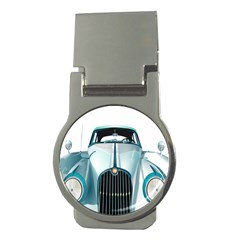 Oldtimer Car Vintage Automobile Money Clips (Round)