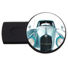 Oldtimer Car Vintage Automobile USB Flash Drive Round (1 GB)