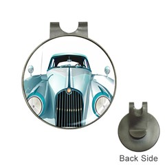 Oldtimer Car Vintage Automobile Hat Clips With Golf Markers