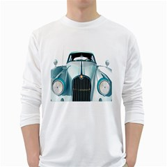 Oldtimer Car Vintage Automobile White Long Sleeve T-Shirts