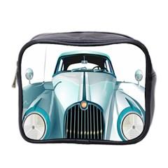 Oldtimer Car Vintage Automobile Mini Toiletries Bag 2-Side