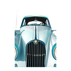 Oldtimer Car Vintage Automobile Shower Curtain 48  x 72  (Small)