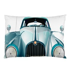 Oldtimer Car Vintage Automobile Pillow Case (Two Sides)