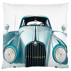 Oldtimer Car Vintage Automobile Large Flano Cushion Case (two Sides)