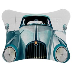 Oldtimer Car Vintage Automobile Jigsaw Puzzle Photo Stand (Bow)