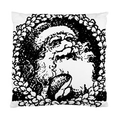 Santa Claus Christmas Holly Standard Cushion Case (One Side)