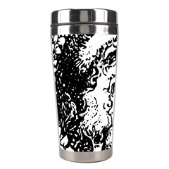 Santa Claus Christmas Holly Stainless Steel Travel Tumblers