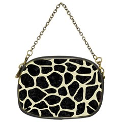 SKN1 BK-MRBL BG-LIN (R) Chain Purses (One Side)