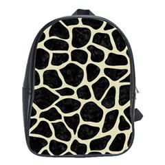 SKN1 BK-MRBL BG-LIN (R) School Bags(Large)