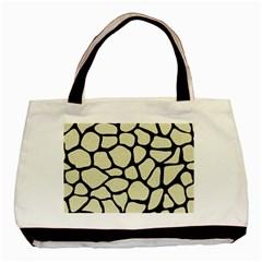 SKN1 BK-MRBL BG-LIN Basic Tote Bag (Two Sides)