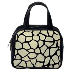SKN1 BK-MRBL BG-LIN Classic Handbags (One Side)