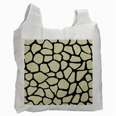 SKN1 BK-MRBL BG-LIN Recycle Bag (One Side)