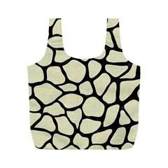 SKN1 BK-MRBL BG-LIN Full Print Recycle Bags (M)