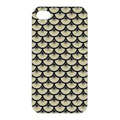 SCA3 BK-MRBL BG-LIN (R) Apple iPhone 4/4S Hardshell Case