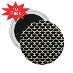 SCA3 BK-MRBL BG-LIN 2.25  Magnets (10 pack)