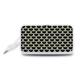 SCA3 BK-MRBL BG-LIN Portable Speaker (White)