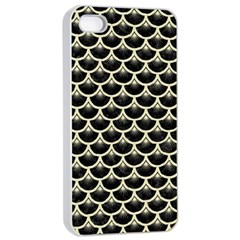 SCA3 BK-MRBL BG-LIN Apple iPhone 4/4s Seamless Case (White)