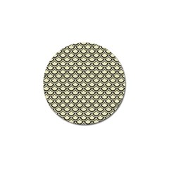 SCA2 BK-MRBL BG-LIN (R) Golf Ball Marker (10 pack)