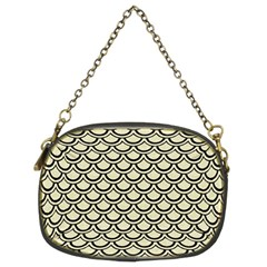 SCA2 BK-MRBL BG-LIN (R) Chain Purses (Two Sides)