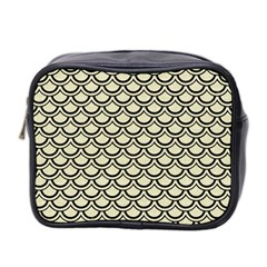 SCA2 BK-MRBL BG-LIN (R) Mini Toiletries Bag 2-Side