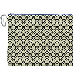 SCA2 BK-MRBL BG-LIN (R) Canvas Cosmetic Bag (XXXL)