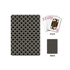SCA2 BK-MRBL BG-LIN Playing Cards (Mini)