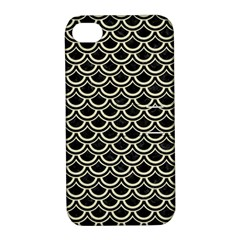 SCA2 BK-MRBL BG-LIN Apple iPhone 4/4S Hardshell Case with Stand